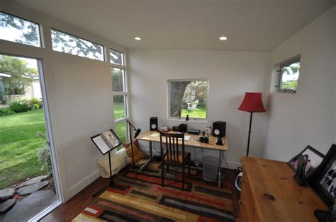 backyard home and recording studios studio shed