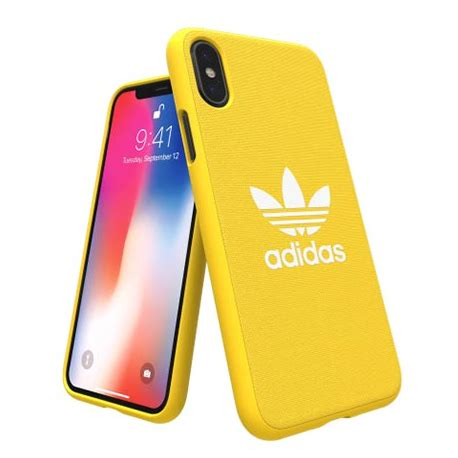 etui adidas na iphone  moulded case zolty