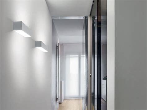wandle eckig gypsum wall light wandstrahler linea light