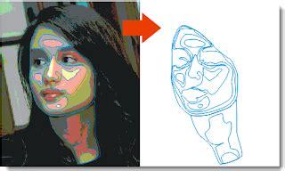 tutorial vector wajah dengan coreldraw menggambar wajah dengan coreldraw stimlash tutorial