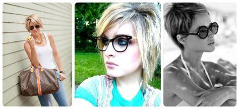 looking haircut specialist for women illinois capelli corti e occhiali un mix vincente