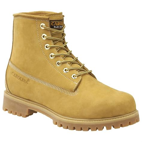s carolina 174 6 quot basic boots wheat 133208 work boots