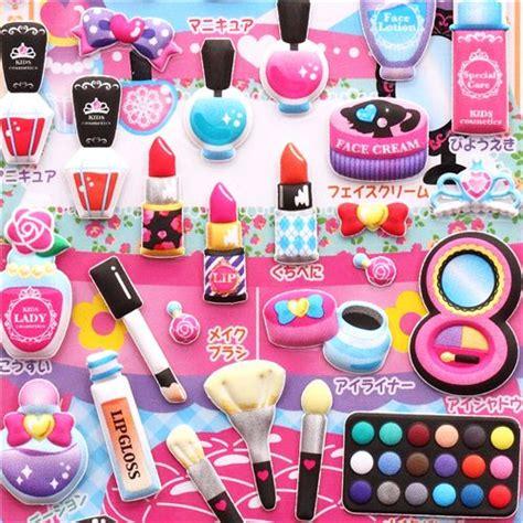 imagenes de maquillaje kawaii pegatinas blandas de maquillaje y librito de jap 243 n