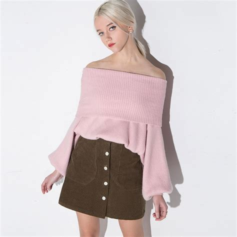 Boat Neck Pullover wholesale boat neck pullover sweater ymk122722rd