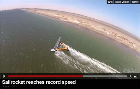 boat speed knots to km 8 best speedsailing records images on pinterest yachts