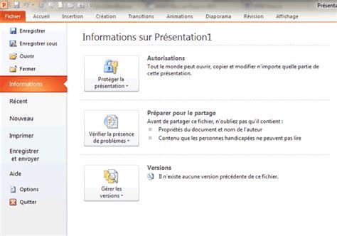 les themes de ppt 2010 3 fa 231 ons de compresser un fichier powerpoint 2010