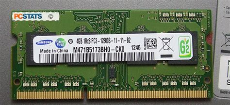 Samsung 4gb Ddr3 Lv Pc12800 Sodimm Memory Ram samsung np540u3c a01 pcstats review looking the
