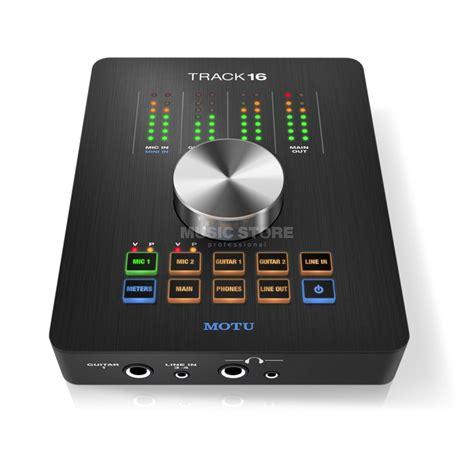 Daftar Audio Interface Usb motu track16 hybrid usb firewire desktop audio interface