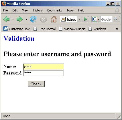 pattern for name validation validating user in jsp