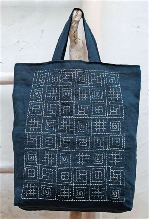 Dahana Sashiko Tote Bag 1280 best images about sashiko embroidery on indigo quilt and fashion fabric
