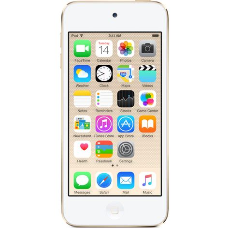 apple 32gb ipod touch gold 6th generation mkht2ll a b h