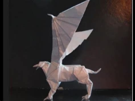 origami griffin tutorial download как сделать грифона оригами griffin origami