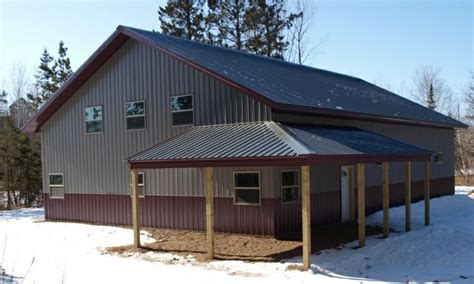 metal garage with living space steel buildings with living quarters floor plans click