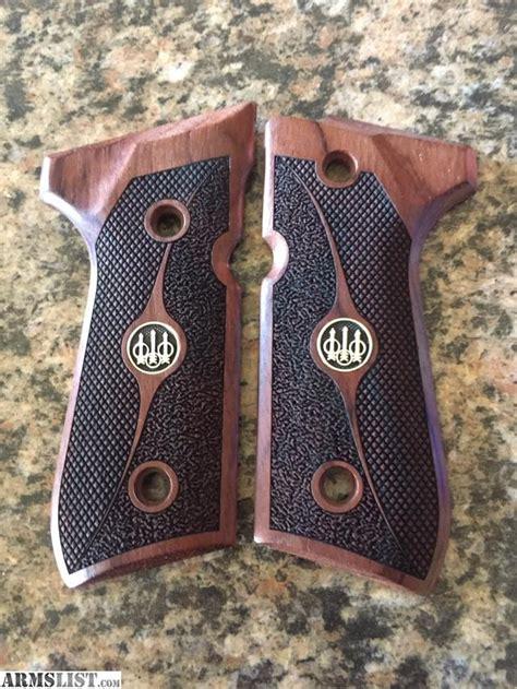 armslist for sale custom wood grips for beretta 92