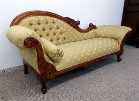 recamiere oder ottomane edle recamiere ottomane im antikdesign neu aus massiv