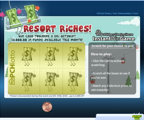 Pch Instant Win Scratch Card - how to find out if you re a winner at pchlotto pch playandwin blog
