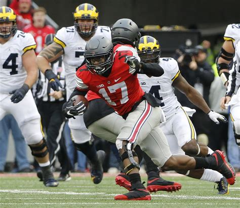 columbus dispatch sports section osu football baker stays grounded after breakout season
