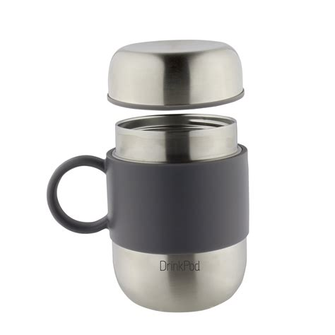 coffee mug handle pioneer drinkpod out for coffee travel mug with handle