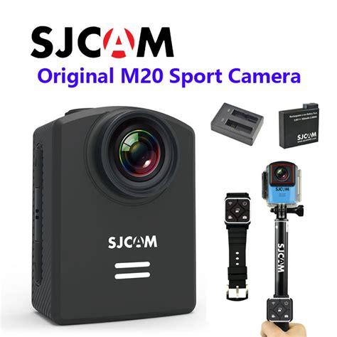 Sjcam M20 free shipping newtest sjcam m20 wifi gyro sport hd 2160p 16mp bluetooth