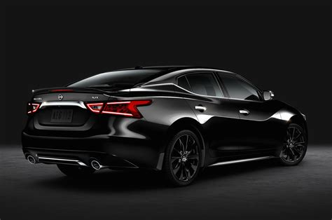 2016 nissan maxima sr midnight edition package priced at