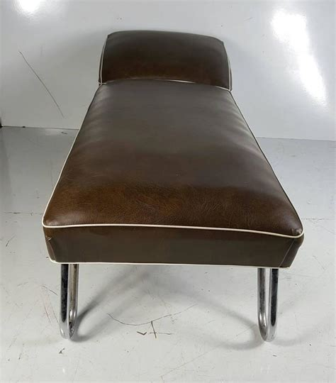 art deco chaise kem weber daybed or chaise longue art deco for sale at