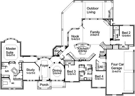 luxury home floor plans with photos 67 best home plans images on homes cottage floor plans and future house