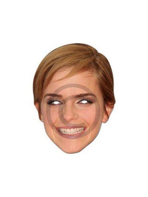 emma watson mask emma watson hermione granger licensed harry potter film