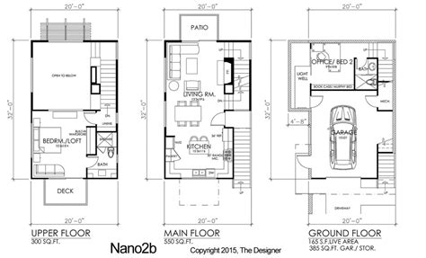 3 storey townhouse floor plans modern affordable 3 story residential designs the