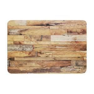 rustic bath mat susan sanders quot cfire wood quot rustic memory foam bath mat