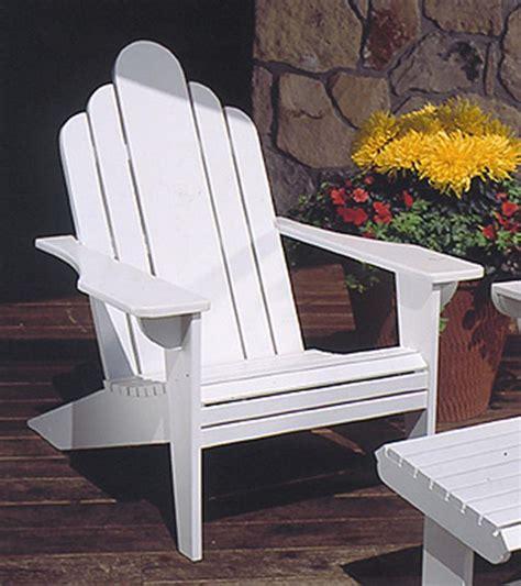 adirondack lawn chair woodworking plan