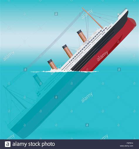 big boat icon sinking titanic big ship legendary colossal boat