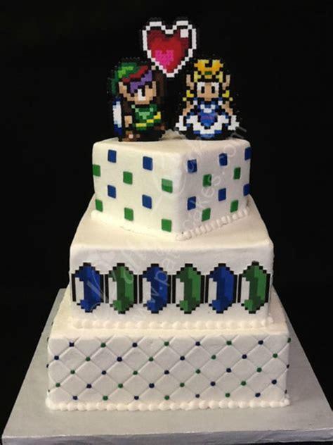 10 g 226 teaux de mariage inspir 233 s des jeux vid 233 o