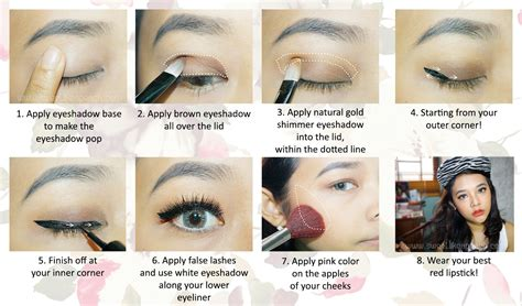 tutorial makeup formal wardah tutorial make up wardah
