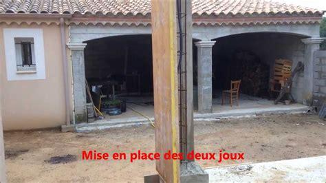 Habillage Poteau Beton Exterieur by Comment Coffrer Plomber Couler Un Poteau B 233 Ton Arm 233