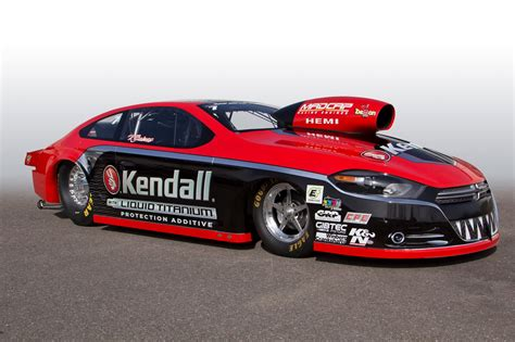 pro stock dodge dart v gaines unveils new kendall dodge dart pro stocker