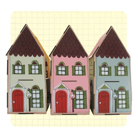 Handcrafted Doll Houses - hiving out handmade doll house