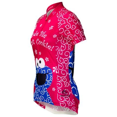 monster jersey cookie monster quot pink quot women s cycling jersey