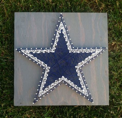 pattern maker dallas 12x12 dallas cowboys star string art basement ideas