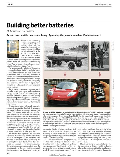 better battery building better batteries pdf available