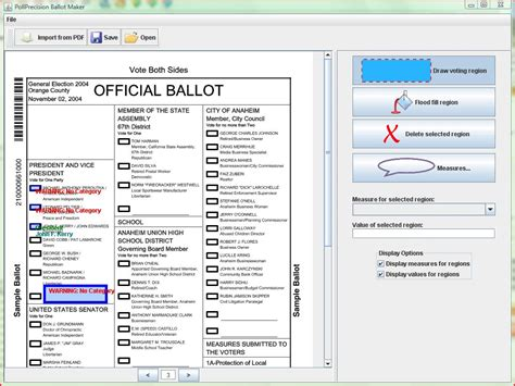 ballot word template make a ballot in word just b cause