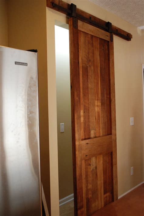 sliding kitchen doors interior sliding pantry barn door inspired kitchen we hardware and pantry