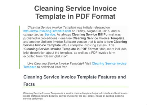 guides to create house cleaning service invoice with tip for beginners cleaning invoice template maggi locustdesign co