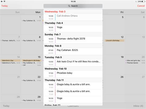 Calendar List View How To Display Your Calendar Events As List View In Ios