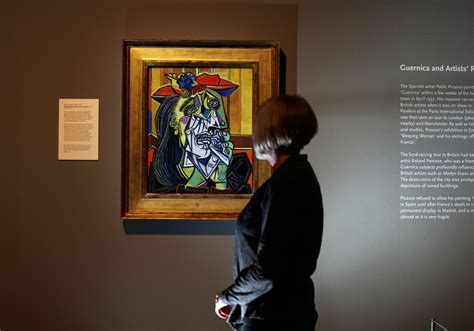 picasso painting on display at the laing gallery in