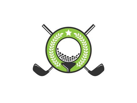 Golf Tournament Logo By Bevouliin Dribbble Golf Tournament Logo Template