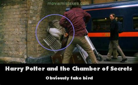 harry potter and the chamber of secrets series 2 the mistakes in the harry potter