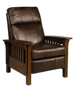 macy s mission style recliner log cabin furniture