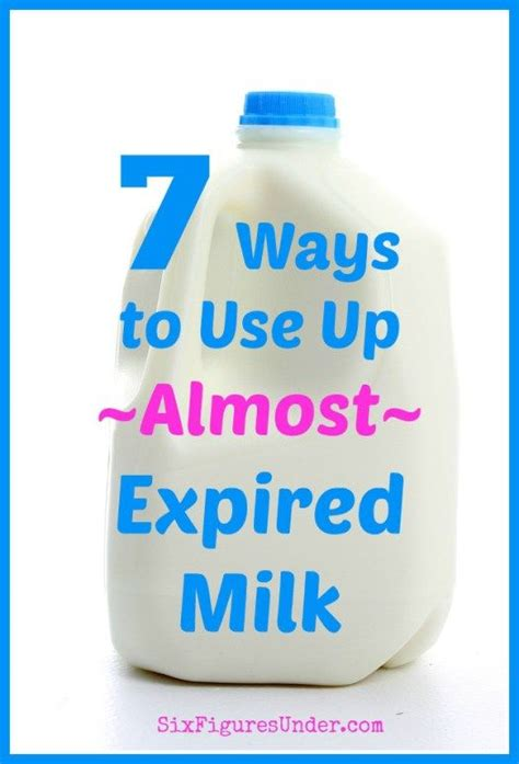materials is there a smart way to apply a better 7 smart ways to use almost expired milk and then money