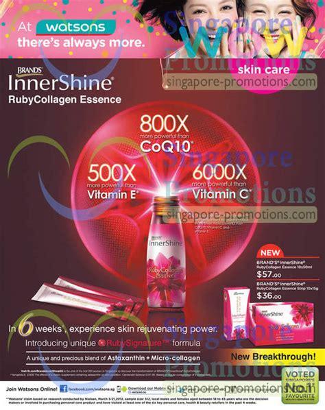 Ruby Collagen brands innershine ruby collagen essence 187 watsons personal