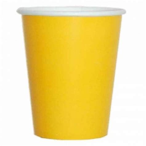 bicchieri carta bicchieri carta giallo